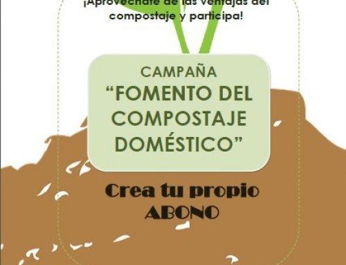 """Campaña """"Fomento del compostaje doméstico"""" Crea tu propio abono"""