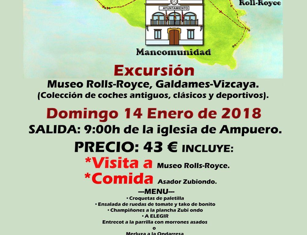 Excursión al Museo Rolls-Royce, Galdames-Vizcaya
