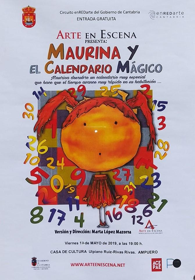 Teatro en Ampuero «Maurina y el calendario mágico»