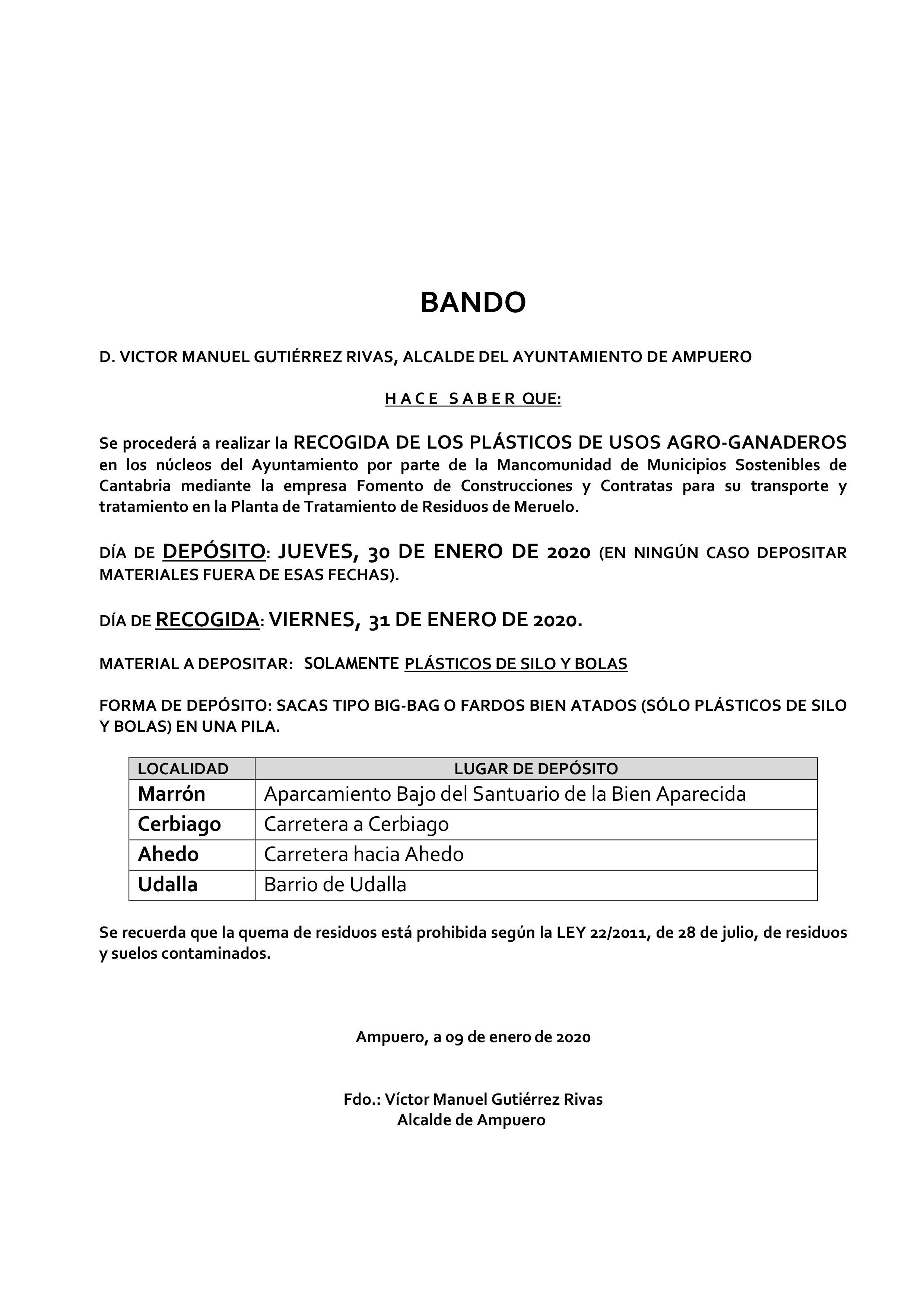 SESION INFORMATIVA SOBRE PUESTA EN SERVICIO DE CARRIL BICI