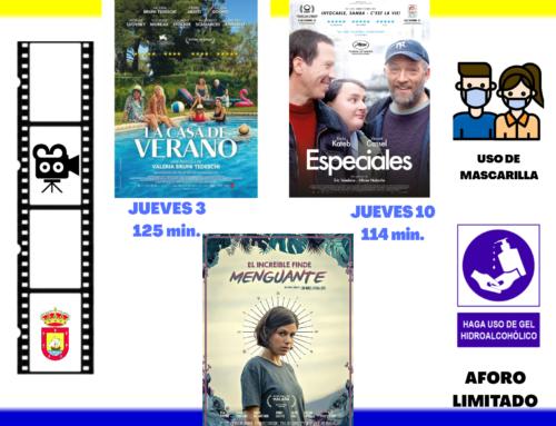 PROGRAMACIÓN FILMOTECA AMPUERO PARA EL MES DE DICIEMBRE