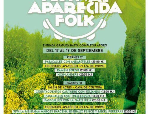 FESTIVAL APARECIDA FOLK DEL 17 AL 19 DE SEPTIEMBRE