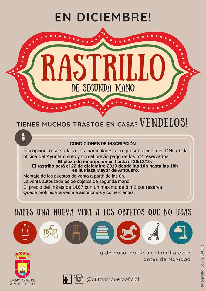 1ª EDICIÓN DEL RASTRILLO DE SEGUNDA MANO EN AMPUERO
