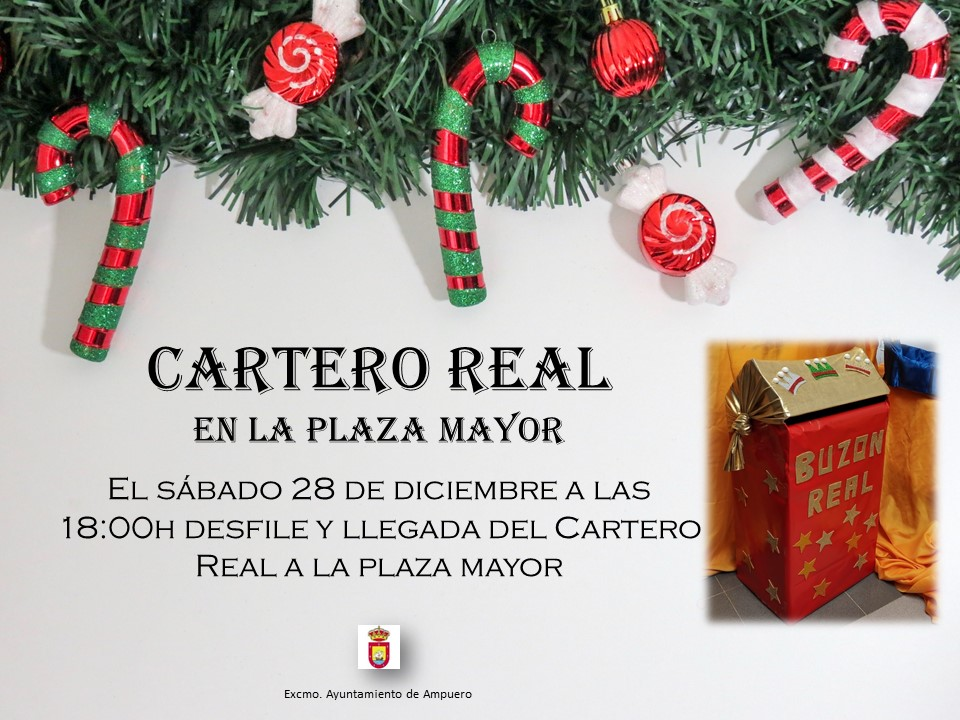 CARTERO REAL EN LA PLAZA MAYOR