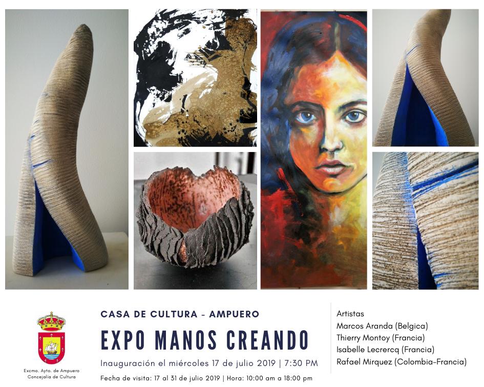 EXPO MANOS CREANDO