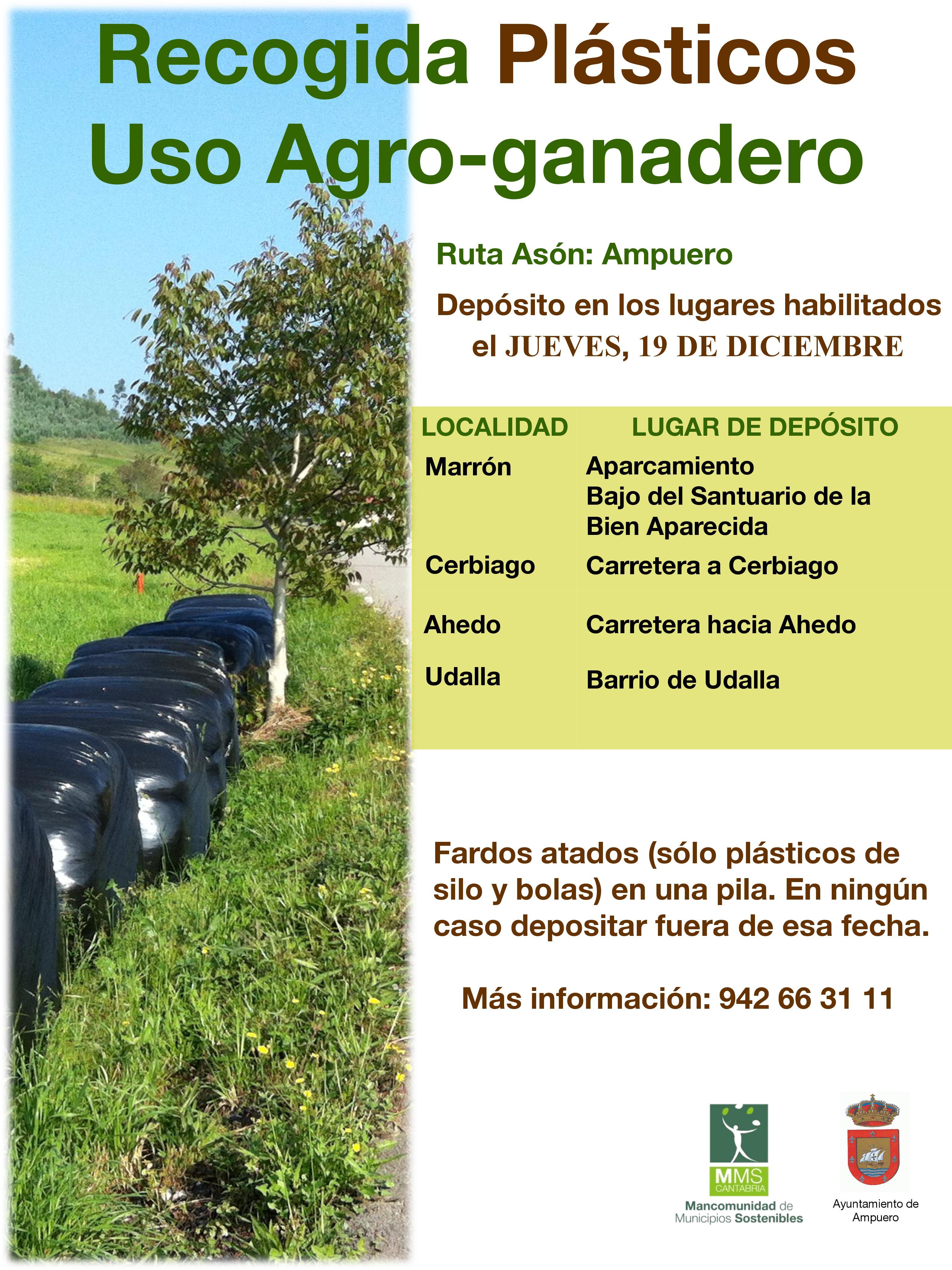 RECOGIDA DE PLÁSTICOS USO AGRO-GANADERO