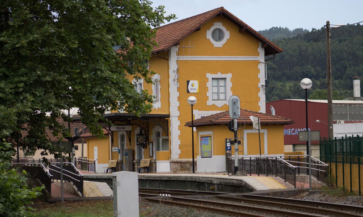 Estación de tren - Ayuntamiento de Ampuero